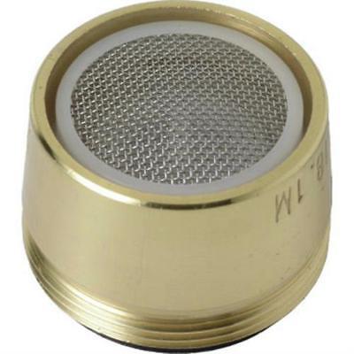 Brass Dual Aerator - Danco Polished Brass Dual Thread Aerator 15/16