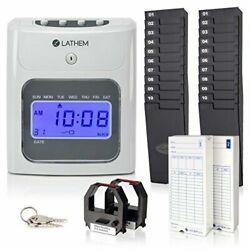 Lathem  Timeclock 400E-KIT Automatic Time Clock Kit (400ekit)