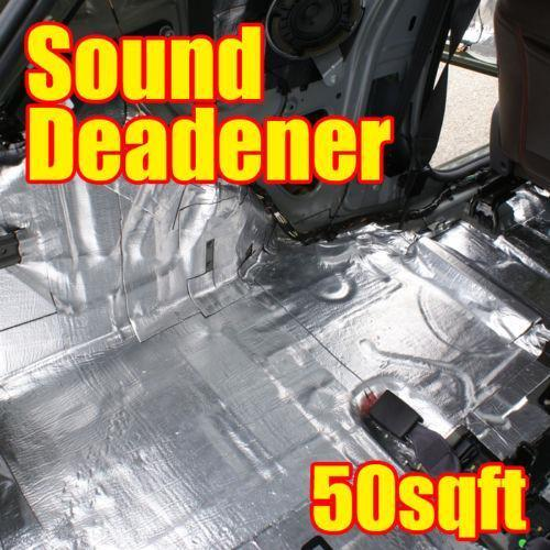 auto sound deadener parts accessories ebay. Black Bedroom Furniture Sets. Home Design Ideas