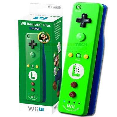 Nintendo Wii & Wii U Remote Motion Plus Luigi (Limited Edition)