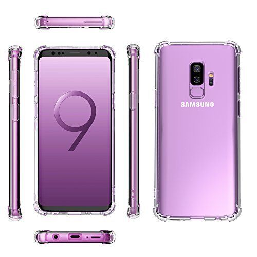 Samsung Galaxy S9/S9 Plus Case Crystal Clear Bumper Rubber Protective Cover Cases, Covers & Skins