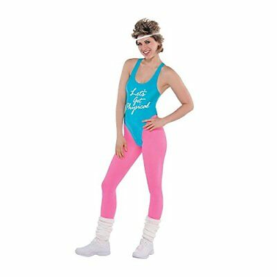 Lets Get Physical Ladies Costume 1980s Oliva Fitness Womens 80s Fancy Dress
