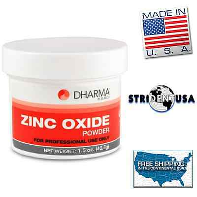 Zinc Oxide Powder Usp Grade 1.5 Oz