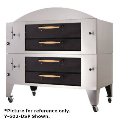 Bakers Pride Y-602bl-dsp Super Deck Y Series Brick Lined Double Deck Pizza Oven