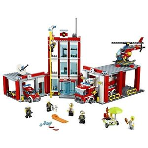 LEGO City Fire Station 60110 BRAND NEW SEALED FIRM