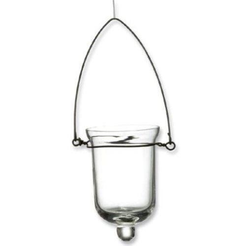 Hanging glass votive holder ebay for Hanging votive candles