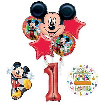 The Ultimate Mickey Mouse 1st Birthday Party Supplies and Balloon Decorations - Mickey Mouse Balloon Decorations