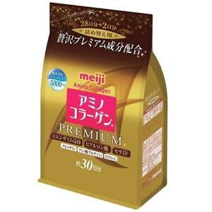 Meiji PREMIUM Amino Collagen Powder Refill 214g - 30days