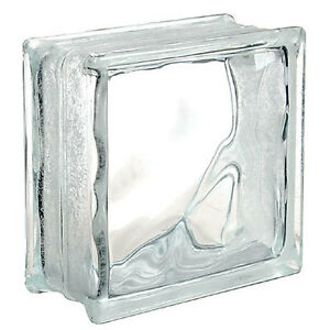 8 Inch x 8 Inch x 4 Inch Glass Block X 41 blocks $150
