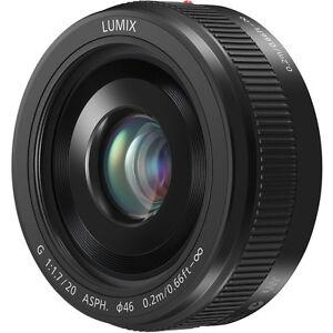 Panasonic LUMIX G 20mm ii f/1.7