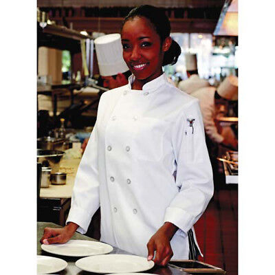 Jrc Ritz Foodservice 0475-2502 Womens Chef Coat - White Size Small