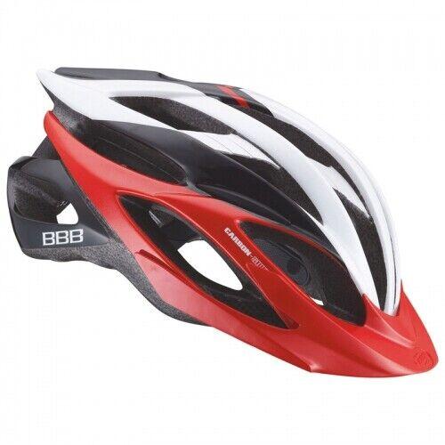 BBB BHE-02 Everest Helm Gr.52-58 Rot weiß Silber