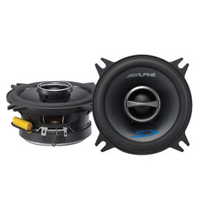 """HIGH END ALPINE 4"""" CAR SPEAKERS! BRAND NEW IN BOX!"""