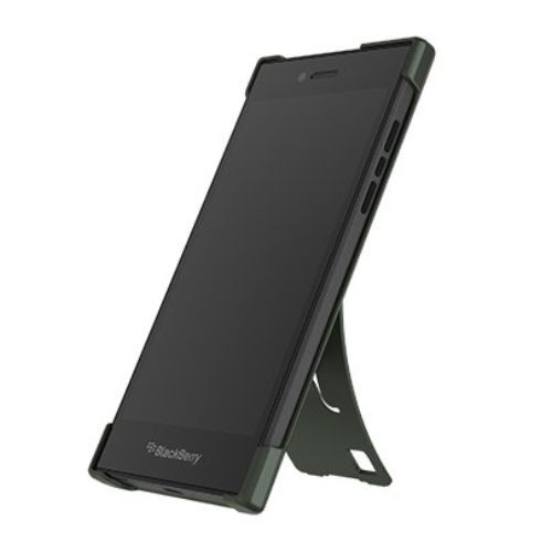 Official BlackBerry Leap Military Green Flex Shell - ACC-60114-003