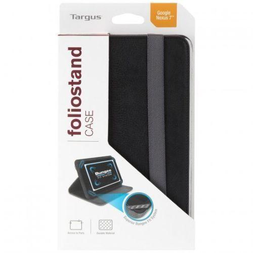 NEW Targus - Foliostand Case Cover Black for Google Nexus 7 Tablets