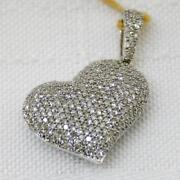 Diamond Puffed Heart