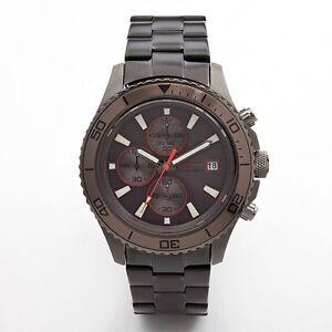 marc anthony gunmetal chronograph s fmdma109