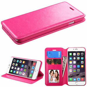 Genuine Mercury Leather Wallet Flip Case Cover For iPhone 6 & 7
