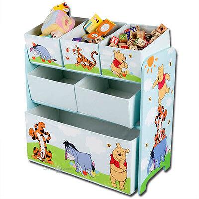 Aufbewahrungsbox Disney Winnie the Pooh Spielzeugkiste Spielzeugbox Kinder Regal