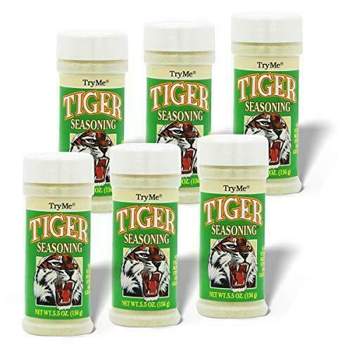 Try Me Tiger Seasoning, 5.5 Ounce (Pack of 6)