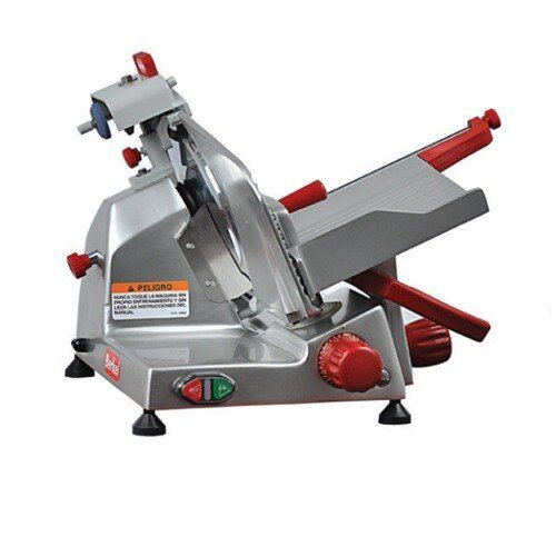 "Berkel 825e-plus 10"" 1/4 Hp Manual Gravity Feed Entry Series Slicer"