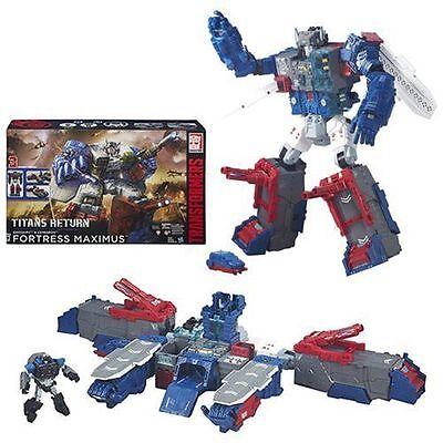 Transformers Generations Titans Return FORTRESS MAXIMUS (Damaged Box)