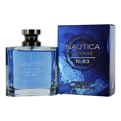 Nautica Voyage N-83 Cologne for Men 3.4 oz EDT New