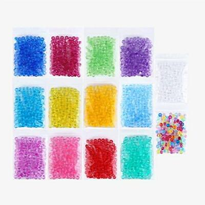 Fishbowl Beads Slime Fish Bowl - 14 Pack Vase Filler Beads 0.28 inch Plastic Slu](Filler Beads)
