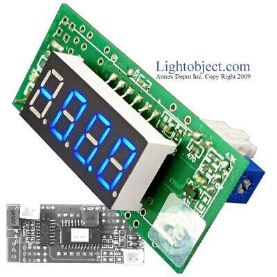 Miniature Blue Led Dc 200v Digital Volt V Meter Module