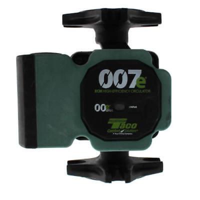New Taco 007e-2f4 Ecm High-efficiency Circulator Pump W Ifc Universal Flange