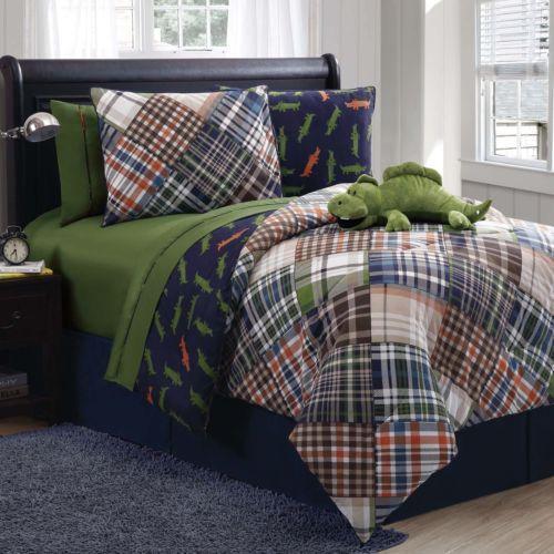 Plaid Boys Bedding Ebay