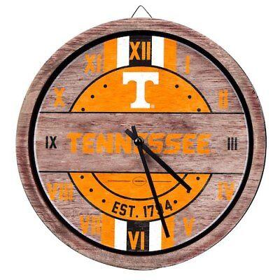 Tennessee Volunteers Metal Wall Clock