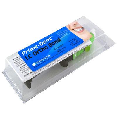 Dental Light Cure Orthodontic Resin Adhesive Ortho Bond 2 Syringe Kit Primedent