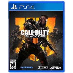 PS4 Call of Duty Black Ops 4.