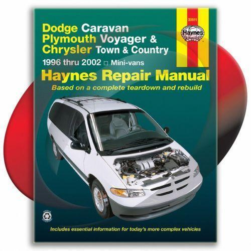 2001 dodge grand caravan owner manual