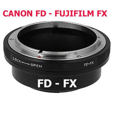 Fd - Fx Adaptador Objetivo Canon Lente de A Fujifilm Cámara -