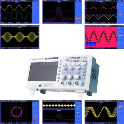 Hantek Dso5102p 2ch 2chanel Digital Oscilloscope 40k Usb Storage 1gsas 8-bit