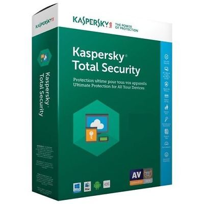 Kaspersky Total Security 2017 / 2018 1 Device - 1 year key full version global for sale  Shipping to South Africa