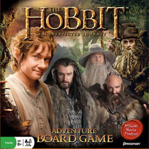THE HOBBIT ADVENTURE BOARD GAME LIKE NEW