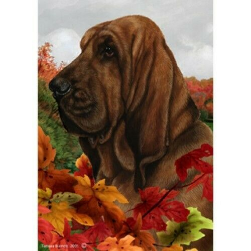 Fall House Flag - Bloodhound 13073