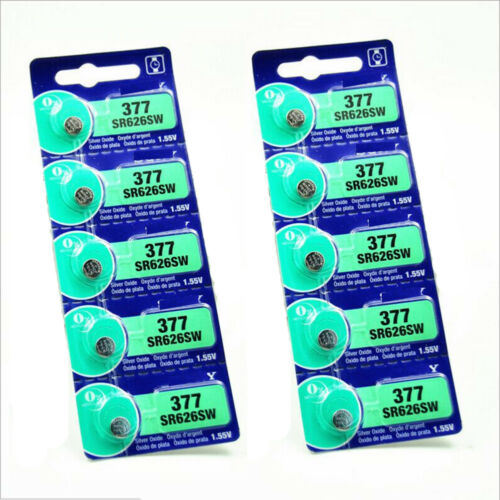 5Pcs 1.55V Silver Oxide Button-type Watch Toys Batteries For