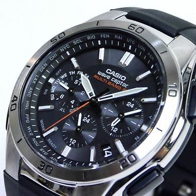 Casio Wave Ceptor WVQ-M410-1AJF Tough Solar Multiband 6 airmail with tracking