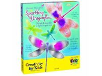 Sparkling Dragonflies Kit: Creativity for Kids **BRAND NEW**