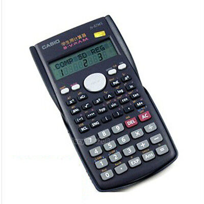 ▲ Casio FX-82MS Scientific 2-Line Display Calculator ▲ Digital LCD