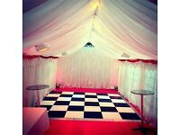 Marquee Hire 3m x 6m - 4m x 6m - 4m x 12m Lighting | Heating | Flooring | Chairs & Tables