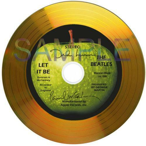 Ebay Co Uk Search: Beatles Gold Disc