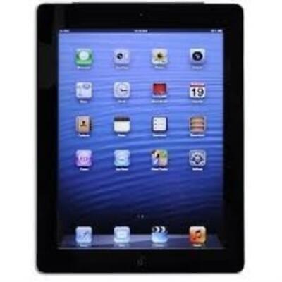 Apple iPad 3rd Gen. 32GB, Wi-Fi + Cellular 9.7in - Black (MC744LL/A) A1403