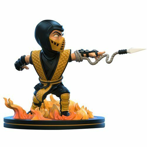 Q-Fig #94 Mortal Kombat Klassic Scorpion 4-Inch Figure. New in Unopened Box 2020