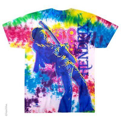 Jimi Hendrix Electric Lady M, L, XL, 2XL Tie Dye T-Shirt
