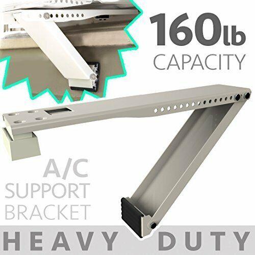 Universal Window Air Conditioner Bracket - 1pc Heavy-Duty Window AC Support